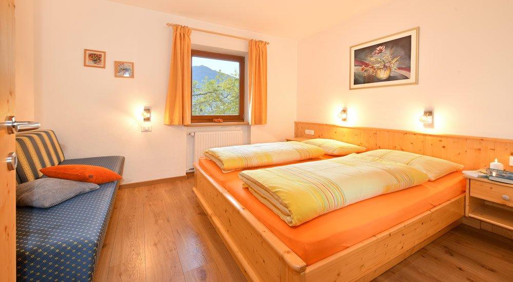 Großzügige und moderne Ferienwohnungen am Ferienbauernhof Südtirol