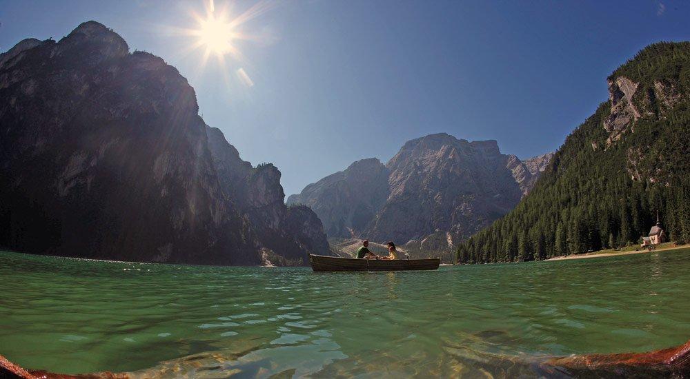 Sommerurlaub in Südtirol - Schwimmen, Baden und Plantschen