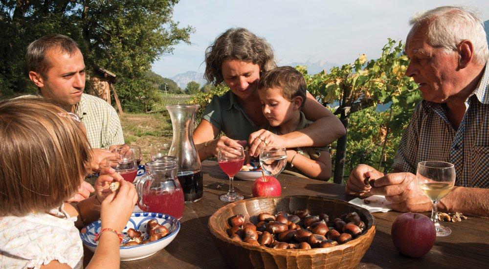 Törggelen im Herbsturlaub mit Kindern