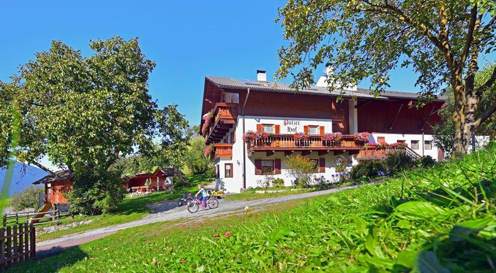 Vacanze in agriturismo in Alto Adige con bambini