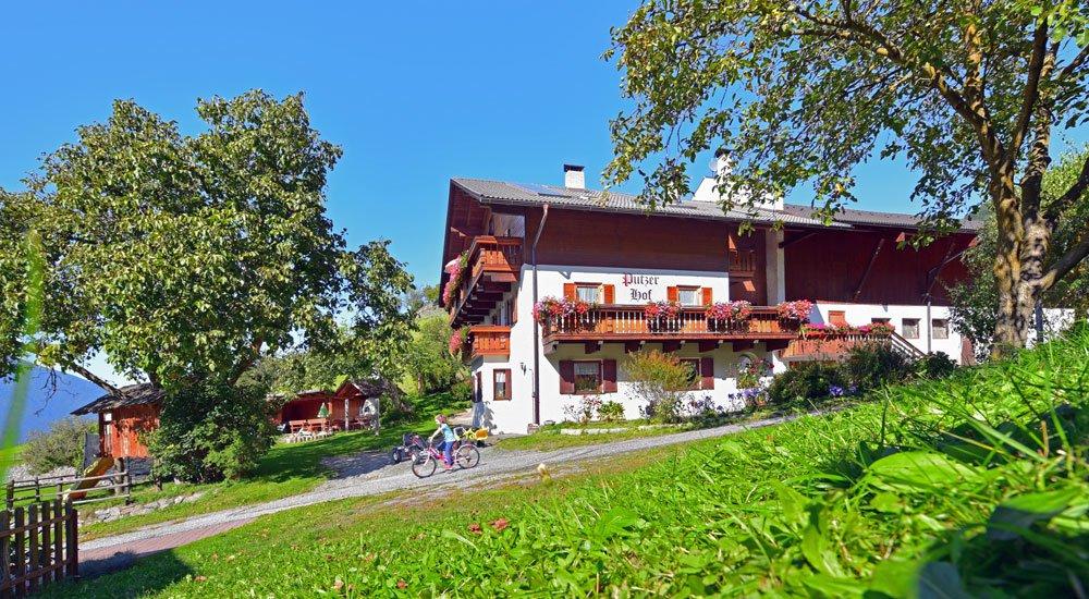Urlaub auf dem Bauernhof in Südtirol am Putzerhof