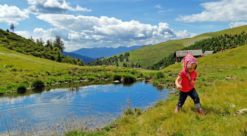 Wanderferien Südtirol - Die Bachwanderung am Kreuzweg in Lüsen