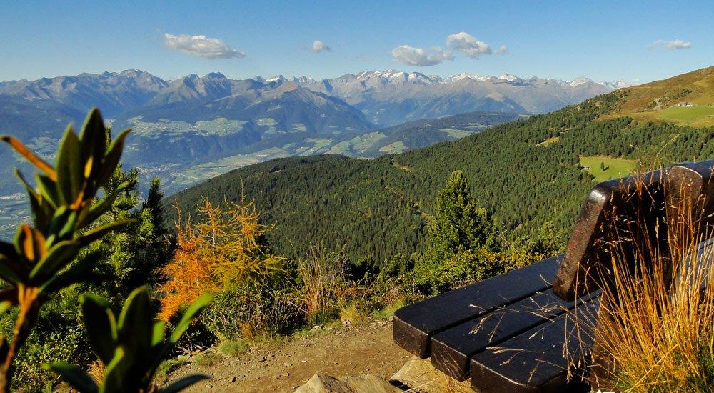 Wandern im Herbsturlaub in Südtirol