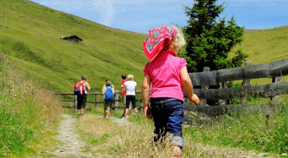 Wanderurlaub mit Kindern in Südtirol