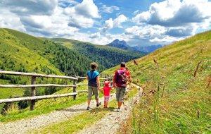 Familienwanderung Lüsen