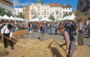 Brotmarkt und Strudelmarkt in Brixen