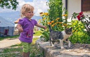 Bambini in Agriturismo