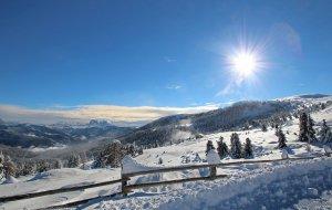 Schneeschuhwandern Dolomiten Südtirol