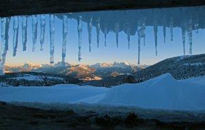 Winterferien Dolomiten