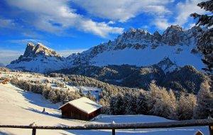Escursioni invernali nelle Dolomiti
