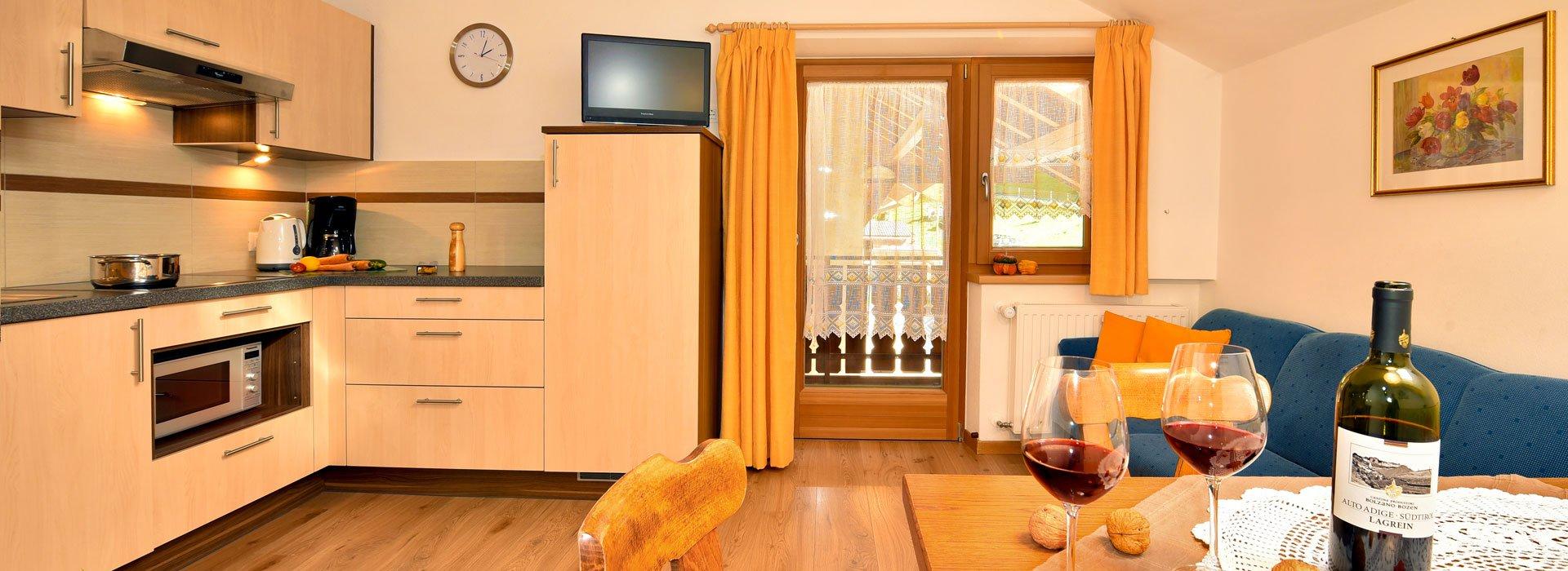 ferienwohnung f r 4 personen die gem tliche putzerhof. Black Bedroom Furniture Sets. Home Design Ideas